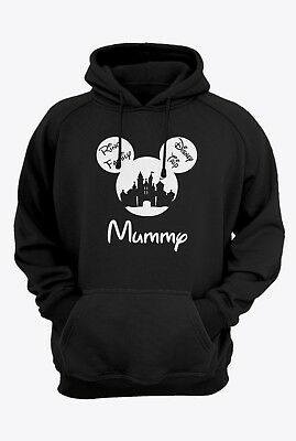 Disney Family Hoodie Disney Hoodies Mickey and Minnie Head Custom Disney Trip