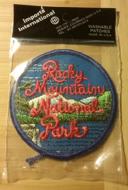 Rocky Mountain National Park Patch