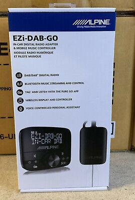 Alpine EZi DAB GO Digital Radio (DAB/DAB+) Universal Interface + DAB Antenna...