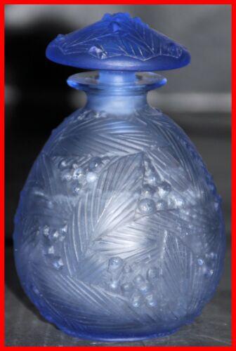 Sabino Blue Glass Perfume Bottle Model Mimosas 7031F