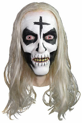 Otis Driftwood Latex Adult Mask Rob Zombie Corpse House Head Costume Halloween