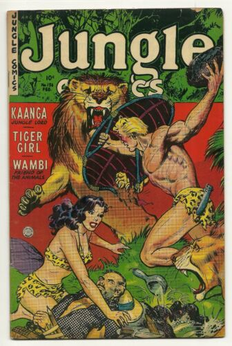 Jungle Comics #156 (VF) Fiction House 1953 TIGER GIRL