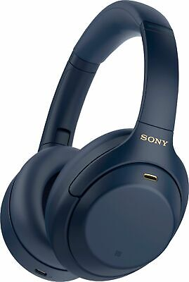 Sony - WH-1000XM4 Wireless Noise-Cancelling Over-the-Ear Headphones - Midnigh...