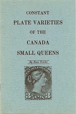 """Constant Plate Varieties of the Canada Small Queens"" by Hans Reiche - UNUSED!"
