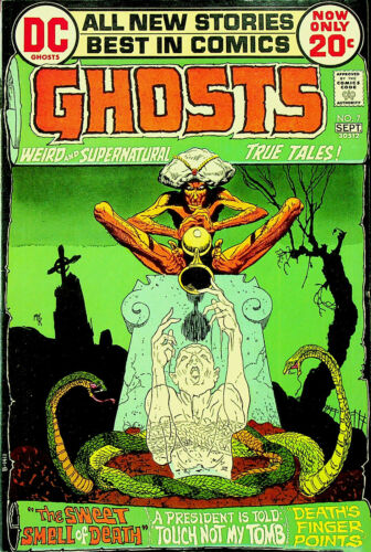 Ghosts #7 (Aug-Sep 1972, DC) - Very Fine/Near Mint