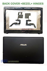 NEW For Asus K52 K52F K52J A52 X52 K52JR LCD Back Cover & Front Bezel US Seller