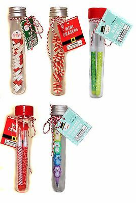 HOLIDAY* Stocking Stuffer TEST TUBE FAVORS Great For Kids CHRISTMAS *YOU CHOOSE* - Stocking Stuffers For Kids