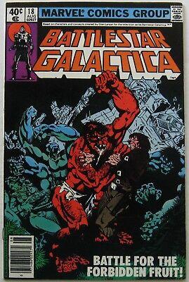 Battlestar Galactica #18 (Aug 1980, Marvel), VFN condition