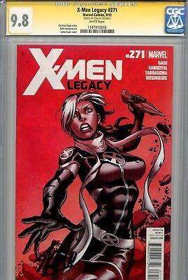 X-Men Legacy 271 CGC 9.8 SS Stan Lee Wolverine Rogue Highest on census (Rogue On Xmen)