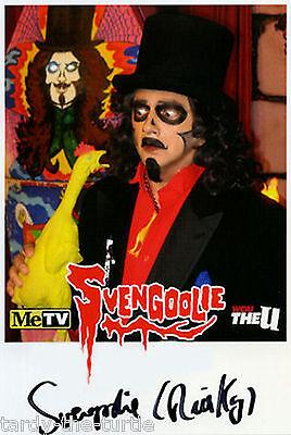 Svengoolie #1  Autograph Reprint  Horror Show Host