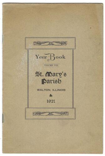 Walton Illinois Lee County St Mary
