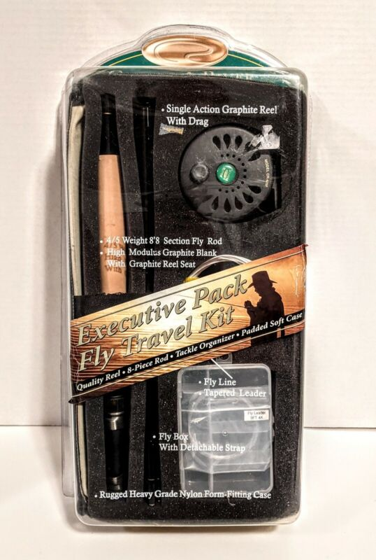 Crystal River Executive Fly Travel Graphite Fishing Kit 8