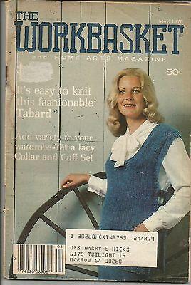 Винтажные VINTAGE WORKBASKET MAY 1978 ISSUE