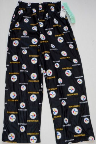 PITTSBURGH STEELERS NFL TEAM APPAREL YOUTH PAJAMAS LOUNGE PANTS S M L XL 2017