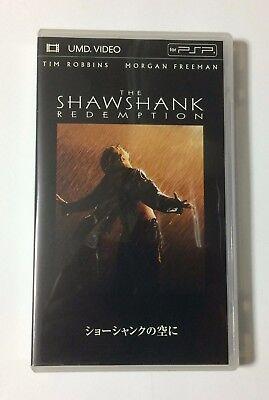 USED PSP UMD Video The Shawshank Redemption JAPAN Shawshank no Sora ni Japanese