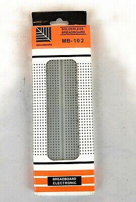 Breadboard Electronic Mb-102 Prototype Pcb Solderless Breadboard