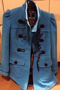 Blue winter coat - never been worn! Bronte Eastern Suburbs Preview
