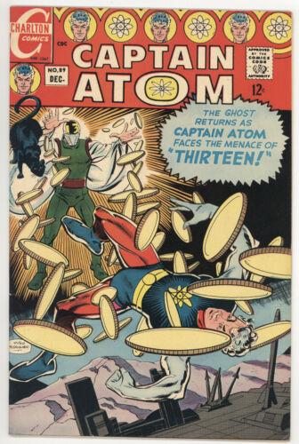 CAPTAIN ATOM #89 VF VERY FINE SILVER AGE CHARLTON COMICS