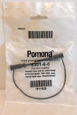 Itt Pomona Electronics 5301-6-0 Smd Grabber Test Clip Patch Cord - New