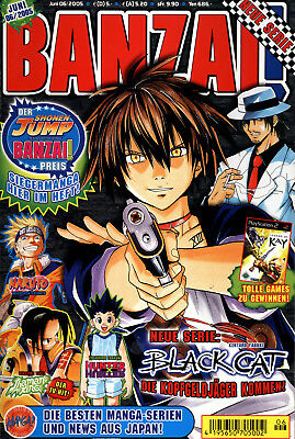 Carlsen Comics - BANZAI! Nr. 06/2005 Juni (Heft 44 von 50)