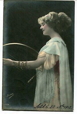CPA - Carte Postale - Fantaisie - Femme - Musique - 1913 (M7995)