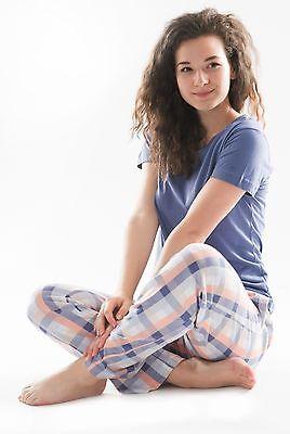 Damen-Pyjama Schlafanzug (SUN9) Gr. 52-54 NEU Baumwolle, Langarm
