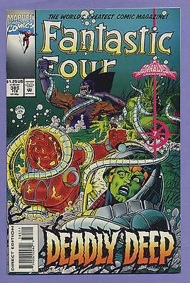 Fantastic Four #385 1994 Starblast Ant-Man & Tiger Shark DeFalco Ryan Marvel v