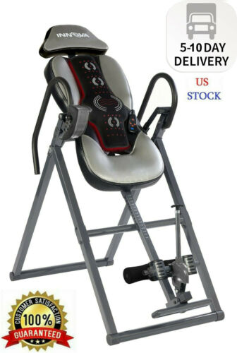 Innova ITM5950 Inversion Table with Advanced Heat and Massage Therapy Fast Ship
