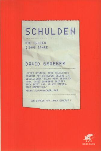 DAVID GRAEBER Schulden HC