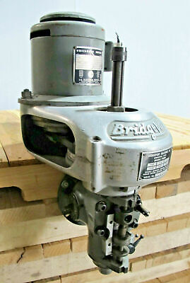 12000 Rpm High Speed Head Spindle For Bridgeport Mill Milling Machine 1hp