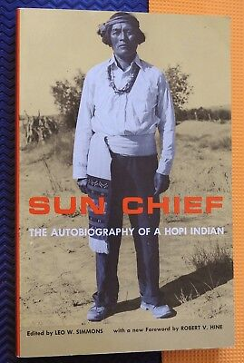 Sun Chief  Autobiography Of A Hopi Indian Native American Bio Don Talayesva