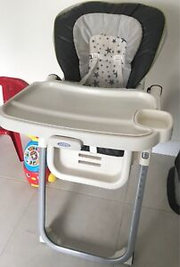 Grace multi position high chair gently used