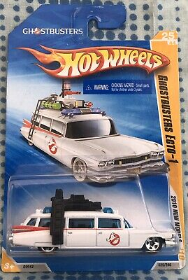Hot Wheels Ghostbusters Ecto-1 2010 Die-cast