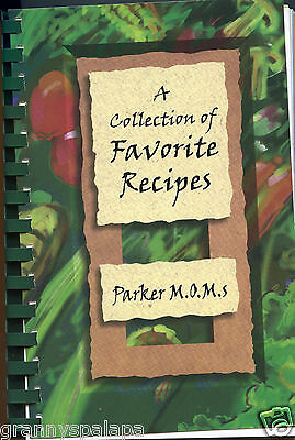 For sale Parker, Colorado - M.O.M.S. Collection of Favorite Recipes, Cookbook, 1999