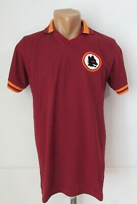 AS ROMA 1978/1979 REPLICA HOME FOOTBALL SHIRT SOCCER JERSEY MAGLIA CALCIO ITALY  image