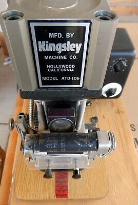 Kingsley Stamping Machine Atd-106 Hard To Find