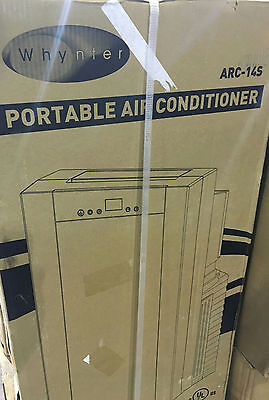 Whynter 14,000 BTU Portable Air Conditioner with Dehumidifer and Remote