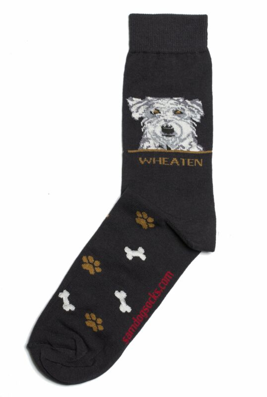 Soft-coated Wheaten Terrier Dog Socks Mens
