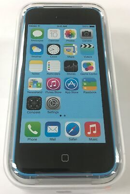 iPhone 5c 16GB Blue (GSM Unlocked) Brand New Factory Sealed Demo