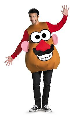 Mr Mrs Potato Head Halloween Costumes (Mr or Mrs Potato Head Deluxe Adult Costume Funny Disguise 16828)