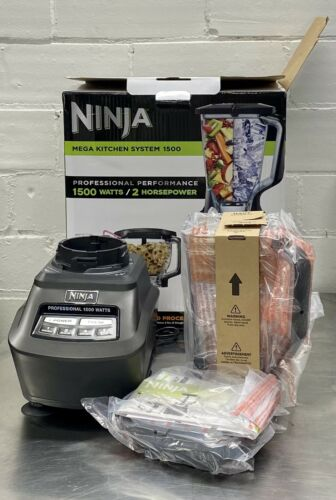 Ninja - Mega Kitchen System 72-Oz. Blender - Black Model:BL7