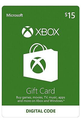 $15 XBOX Live $15 USD Gift Card - XBOX ONE and 360 - USA ONLY **Fast Delivery***
