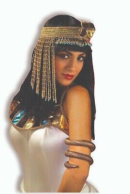 Forum Neuheiten Ägyptisch Queen Schlange Kopfbedeckung Halloween Kostüm-zubehör