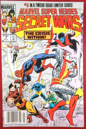 MARVEL SUPER HEROES SECRET WARS #3 VF 1st Appearance Titania 1984 Marvel Comics