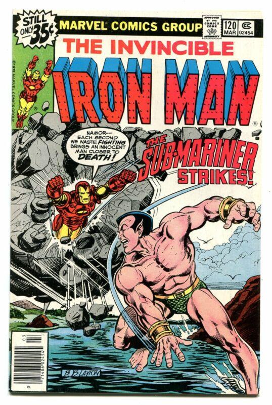 IRON MAN # 120