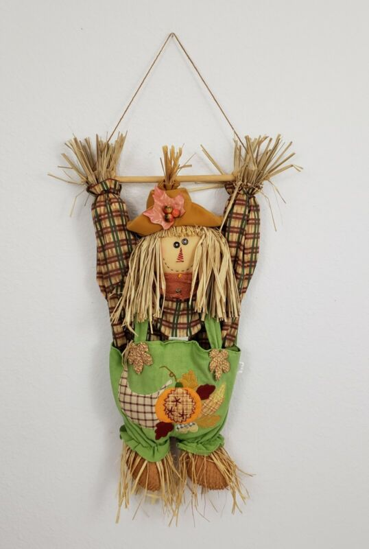 Scarecrow Fall Hanging Door Wall Home Decor Decorations Thanksgiving Halloween