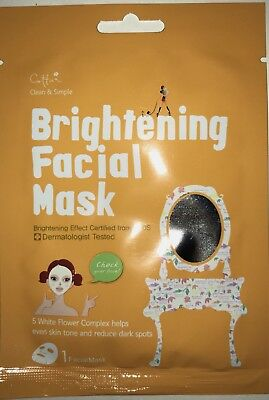 Brightening Face Sheet Mask Brighten Effect Certified from MFDS Clean & (Effect Brightening)