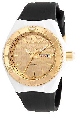 Technomarine TM-115061 Monogram Gold 40mm Watch Painted Gold Monogram