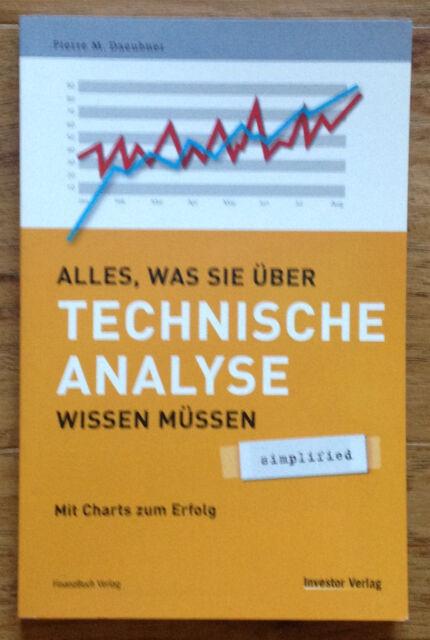ALLES WAS SIE ÜBER TECHNISCHE ANALYSE WISSEN MÜSSEN Pierre Daeubner 2006 Charts