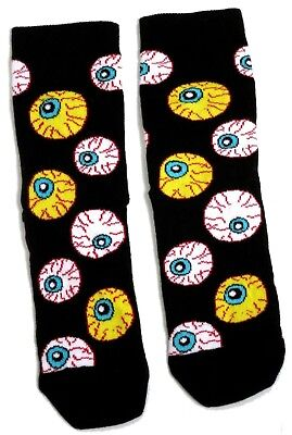 ooky Eyes Eyeball Halloween Socken Uk Grösse 6-8,5 / 1-3 Jahr (Halloween-socken)